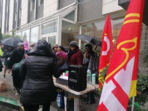 À l'hôtel Ibis de Clichy-Batignolles, des femmes de ménage entament leur 200e jour de grève
